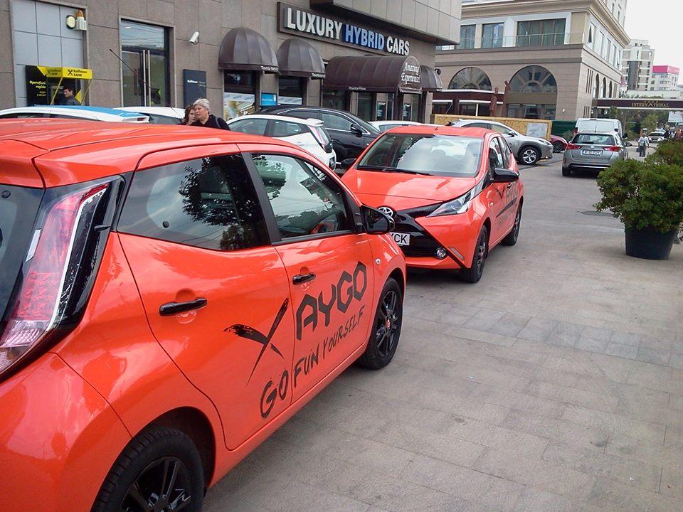 Iustina,Toyota Aygo – Go Fun Yourself